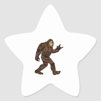 ROCK ON OUT STAR STICKER