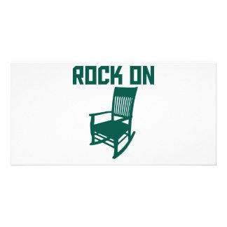 Rock On Photo Card