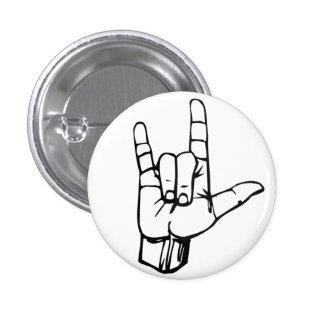 Rock On! Pinback Button