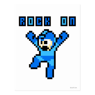 Rock On Post Card