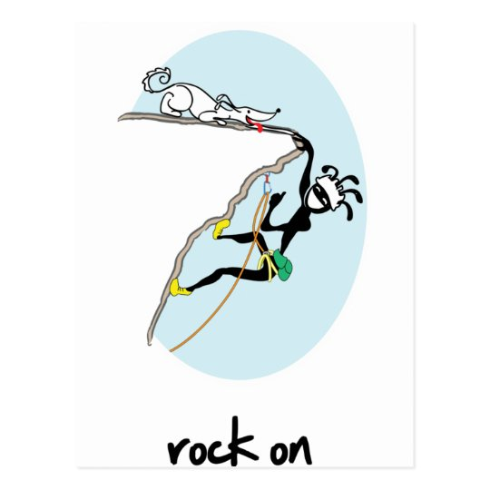 """Rock On!"" Postcard"