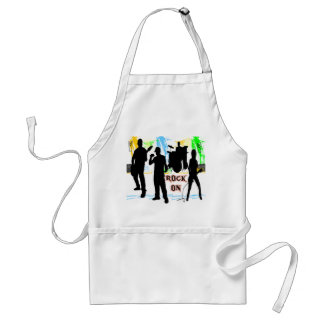 Rock On - Rock n' Roll Band Apron