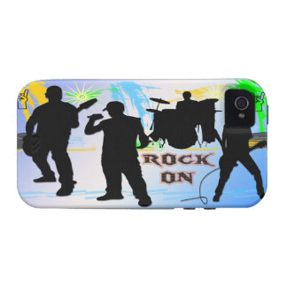 Rock On - Rock n' Roll Band Case-Mate Case Vibe iPhone 4 Cases