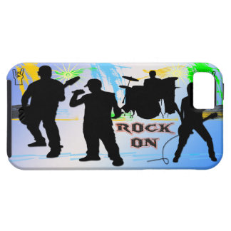 Rock On - Rock n' Roll Band Case-Mate Case iPhone 5 Cover