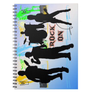 Rock On - Rock n' Roll Band Notebook