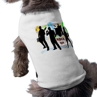 Rock On - Rock n' Roll Band Pet Clothing