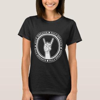 Rock-On Rule Breakin Front - Br|Sr |Sister Back T-Shirt