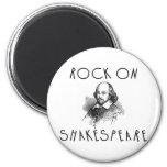 Rock On Shakespeare Magnet