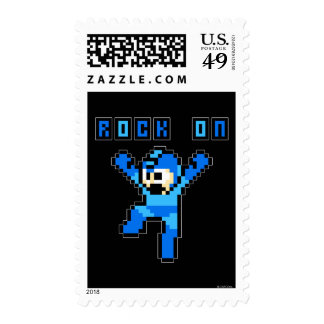 Rock On Stamp