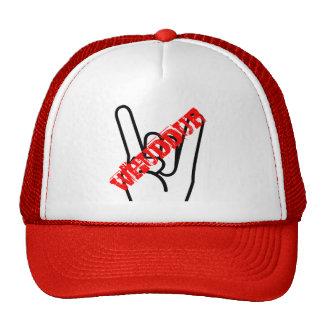 rock on whuddup hat