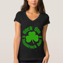 Rock Out on St Patricks Day T-Shirt