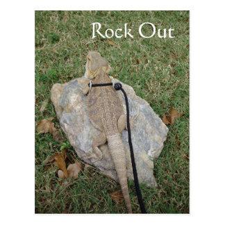 Rock Out Postcard
