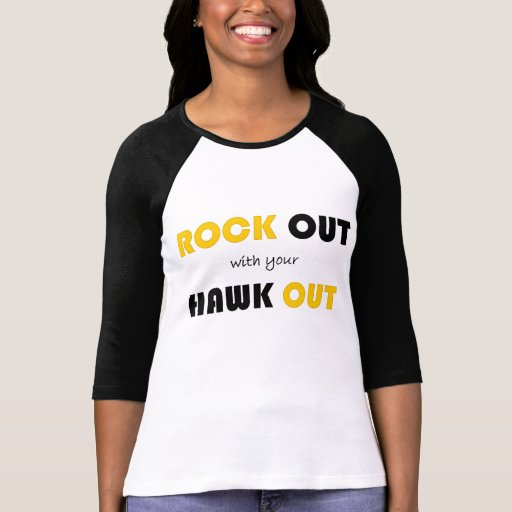 Rock Out With Your Hawk Out T-Shirt