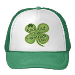 Rock Out With Your Shamrock Out! Hats