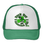 Rock Out With Your Shamrock Out! Mesh Hats