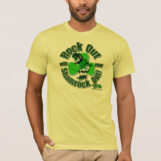 Rock Out With Your Shamrock Out! T-Shirt