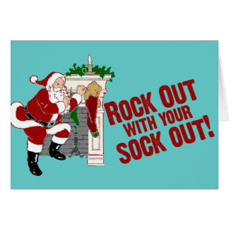 Rock Out WIth Your Sock Out! Card
