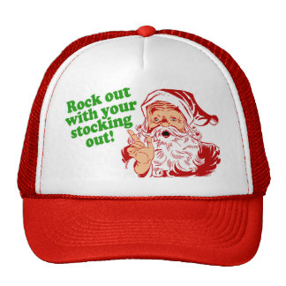 Rock out with your sock out trucker hat