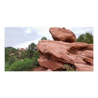 Rock Outcrop at Garden of the Gods Card