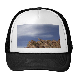 Rock Outcropping At The Anza Borrego Desert Trucker Hat