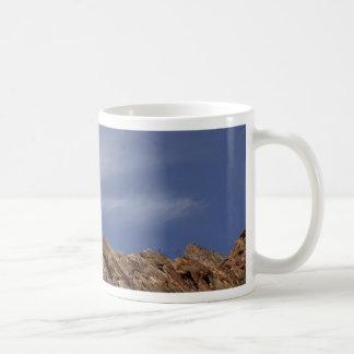 Rock Outcropping At The Anza Borrego Desert Mugs