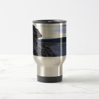 Rock Outcropping on the Noatak River Coffee Mugs
