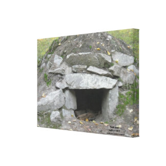 Rock Oven Wrapped Canvas