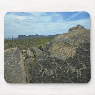 Rock Painting Mouse Pad