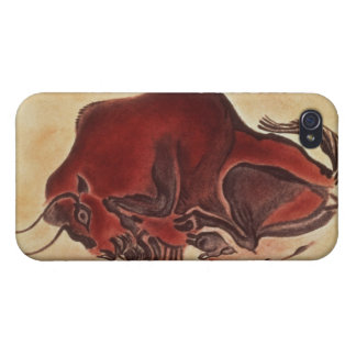 Rock painting of a bison, late Magdalenian iPhone 4/4S Cover