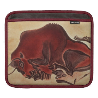 Rock painting of a bison, late Magdalenian Sleeve For iPads