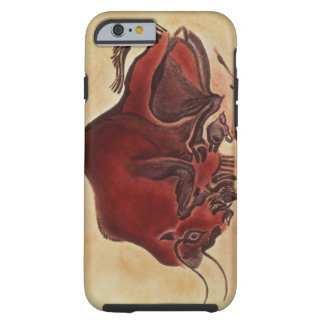 Rock painting of a bison, late Magdalenian Tough iPhone 6 Case