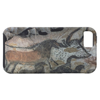 Rock painting of a bull and horses, c.17000 BC (ca iPhone SE/5/5s Case