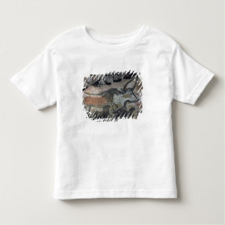 Rock painting of a bull and horses, c.17000 BC (ca Toddler T-shirt