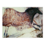 Rock painting of a galloping horse, c.17000 BC Post Cards