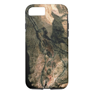 Rock painting of a horned animal, c.17000 BC (cave iPhone 7 Case