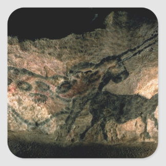 Rock painting of a horned animal, c.17000 BC (cave Stickers