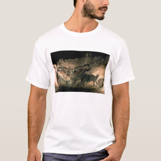 Rock painting of a horned animal, c.17000 BC (cave T-Shirt
