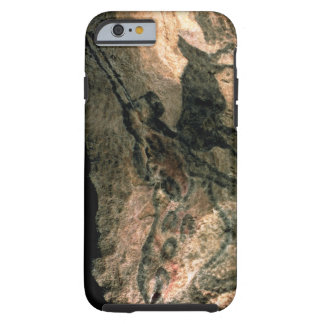 Rock painting of a horned animal, c.17000 BC (cave Tough iPhone 6 Case