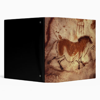 Rock painting of a horse, c.17000 BC 3 Ring Binder