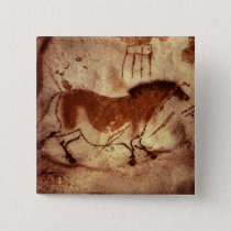 Rock painting of a horse, c.17000 BC Button