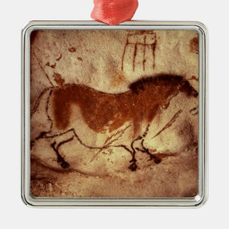 Rock painting of a horse, c.17000 BC Metal Ornament