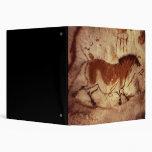 Rock painting of a horse, c.17000 BC Vinyl Binders