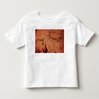 Rock painting of a hunting scene, c.17000 BC T Shirts