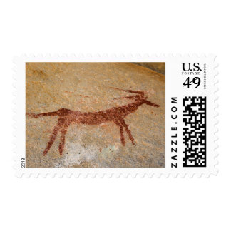 Rock Painting Of Animal, Near Bethulie Postage