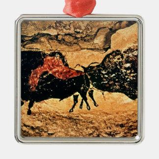 Rock painting of bison, c.17000 BC Metal Ornament