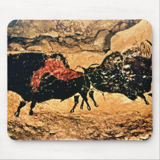Rock painting of bison, c.17000 BC Mouse Pad