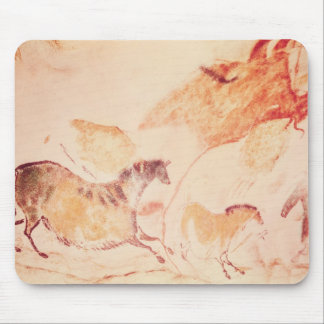 Rock painting of horses, c.17000 BC Mouse Pad