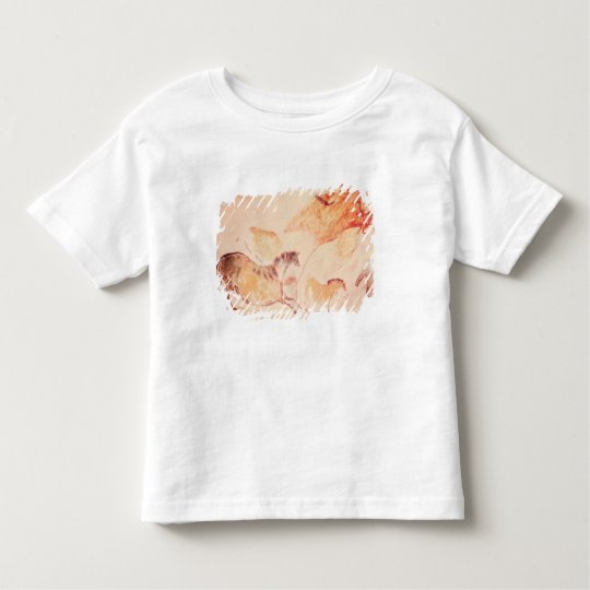 Rock painting of horses, c.17000 BC Toddler T-shirt