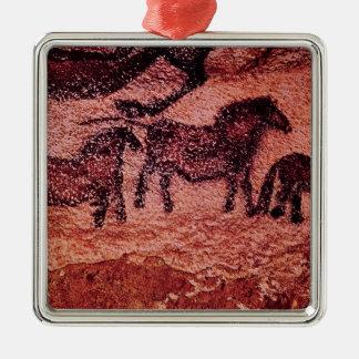 Rock painting of tarpans , c.17000 BC Metal Ornament