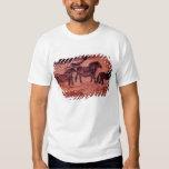Rock painting of tarpans , c.17000 BC T Shirt